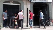 La cafetería Esperanza era el único lugar, al margen de la mezquita, que frecuentaba el imán