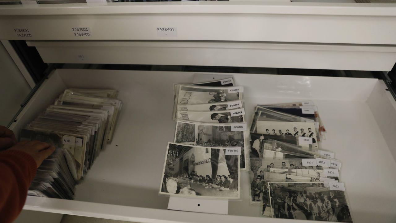 Fotografías almacenadas en el Arquivo de Galicia