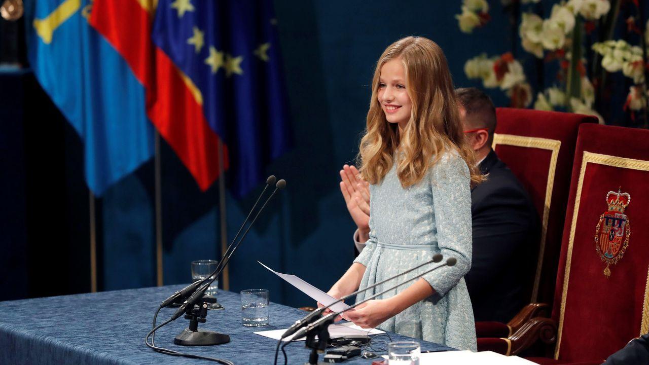 Entrega de los Premios Princesa de Asturias.La princesa Leonor