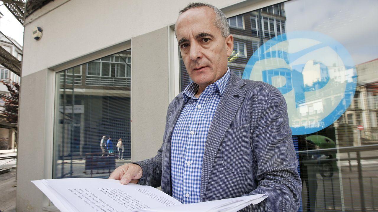 Ramón Carballo aplaude el elevado apoyo al PP en la ciudad de Lugo