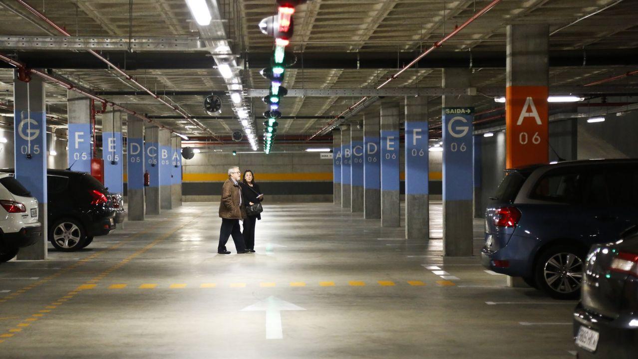 Imagen de archivo del aparcamieno del Cunqueiro