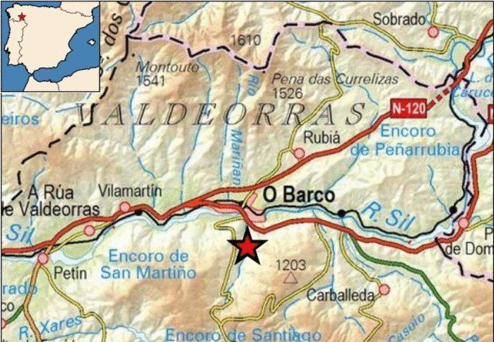 Así ha castigado el temporal a Ourense.Un tren Alvia de la línea de A Coruña a Barcelona en una imagen de archivo