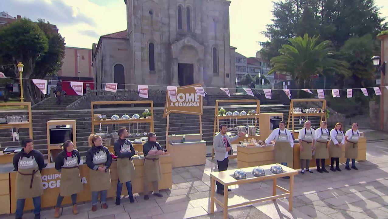 Un concurso popular na praza de España de Monforte ocupa una parte do programa