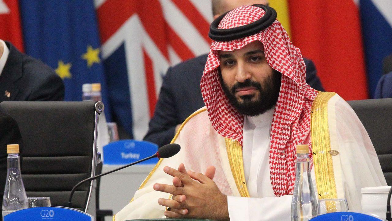 El príncipe heredero saudí, Mohammed Bin Salman