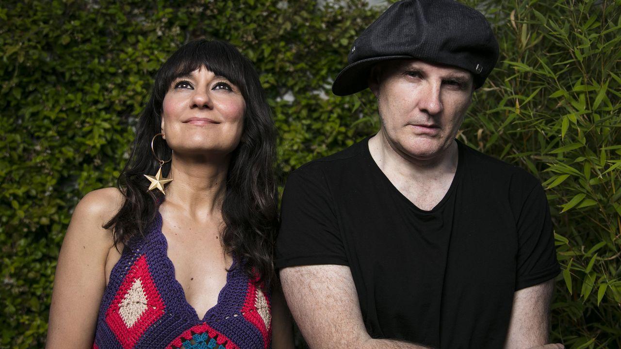 Amaral, de TerraCeo en Vigo.Eva Amaral y Juan Aguirre