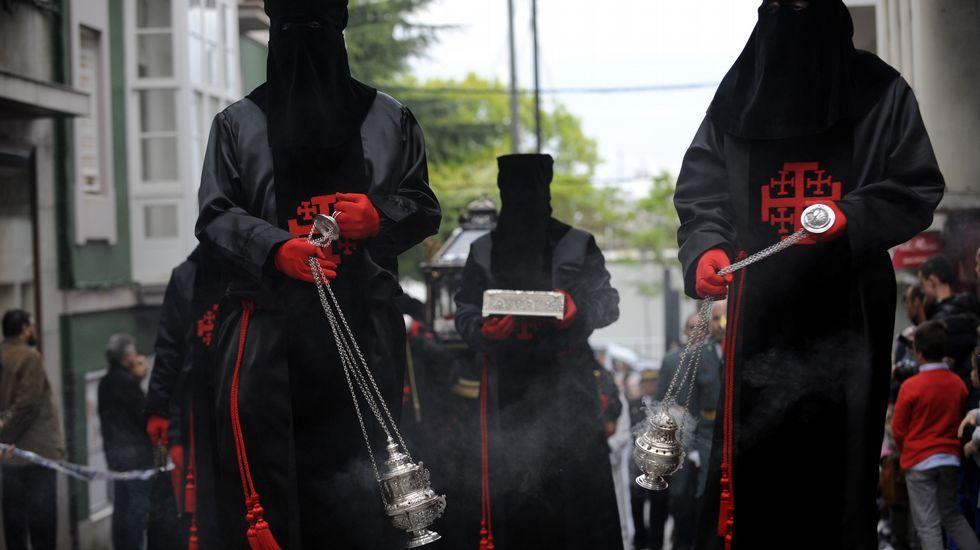 Procesión del Santo Entierro en Ferrol