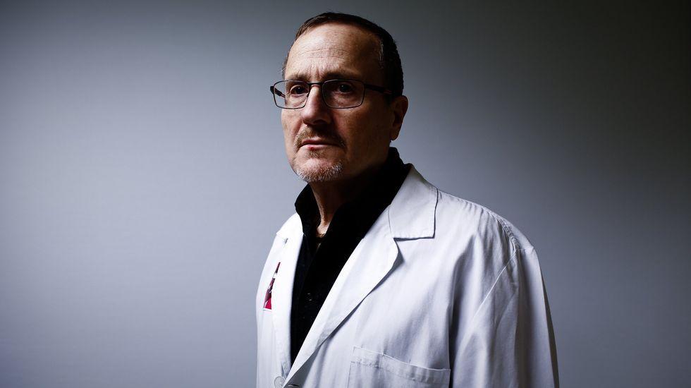 Castrillo es el jefe de Ginecología del Hospital de Verín