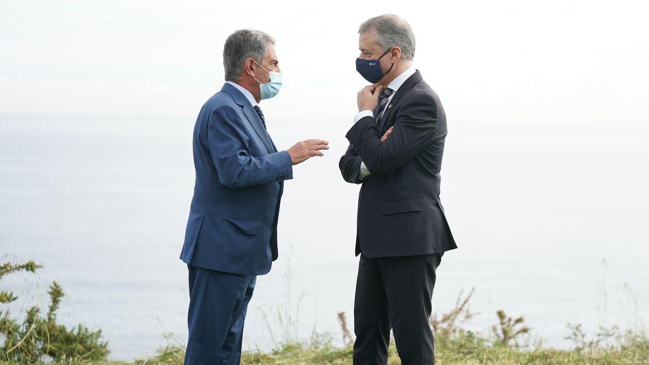 Vista general de la cárcel de Asturias.Revilla y Urkullo, en su encuentro de este viernes