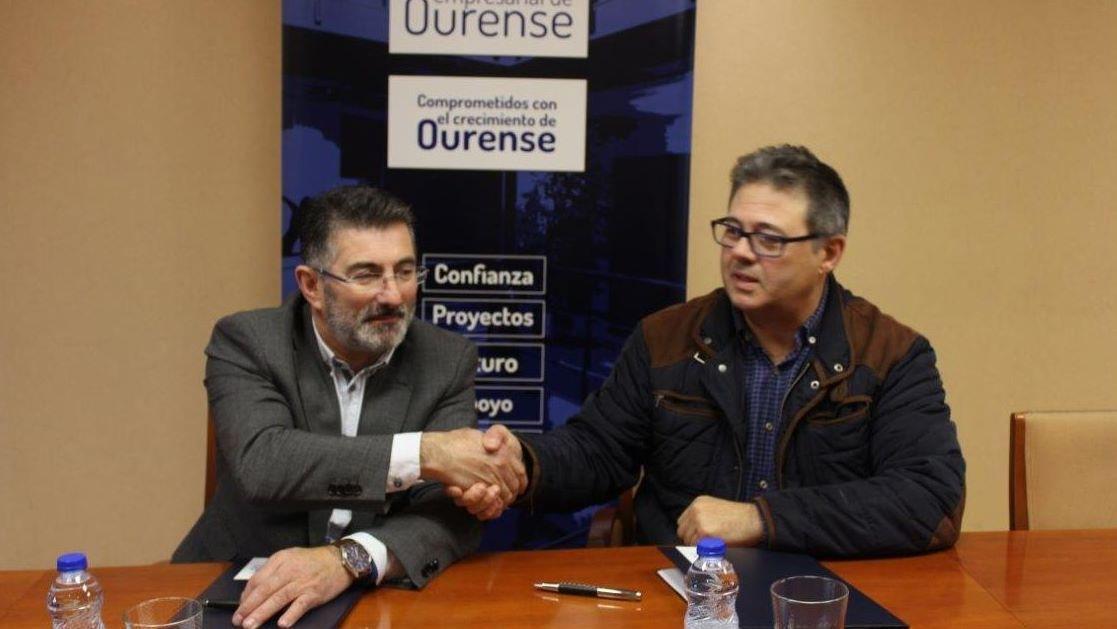 Un año de compromiso con Ourense.Marisol Nóvoa, presidenta de la patronal ourensana