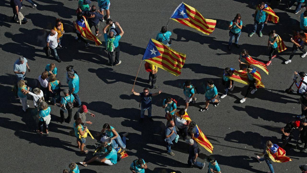 A pesar del pinchazo de participación de la Diada, el Gobierno no oculta su preocupación por la respuesta en Cataluña a la sentencia del Supremo por el 1-O