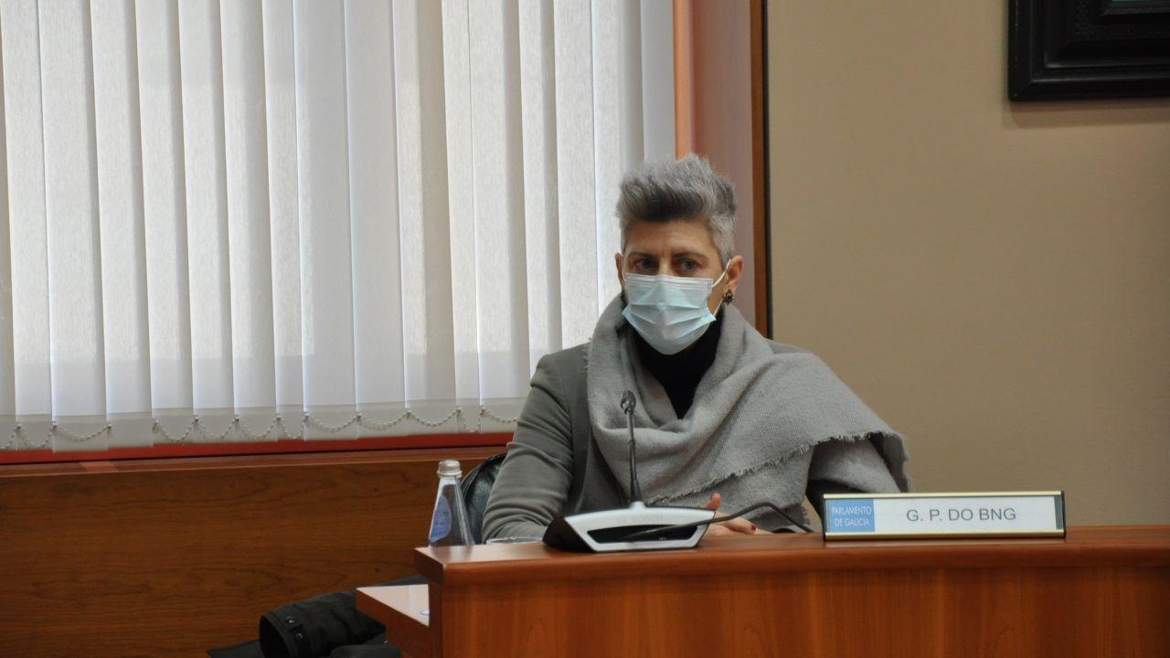 Muestras del material aparecido en Bastiagueiro será analizadas en sendos laboratorios.Francisco Reynés, presidente de Naturgy