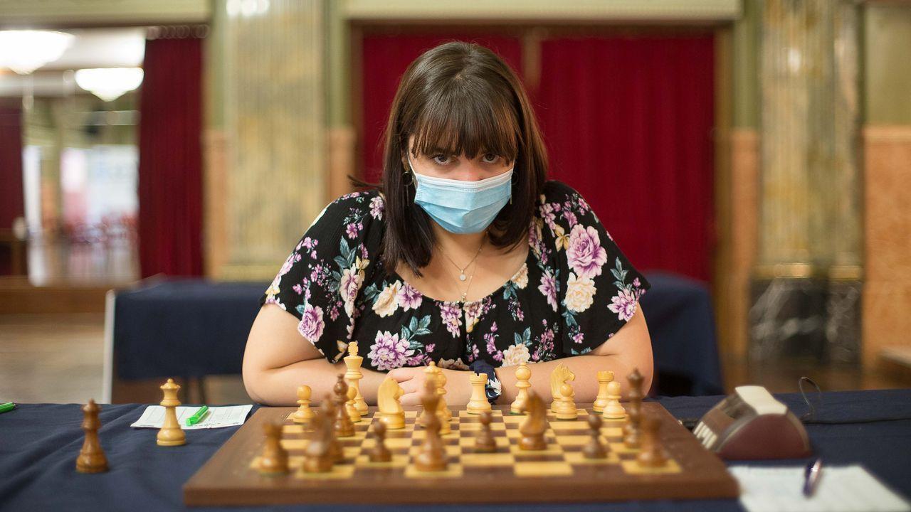 La ajedrecista búlgara compitiendo en el Círculo de las Artes