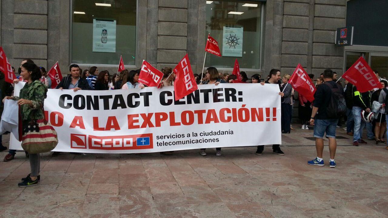 Una de las protestas de los trabajadores