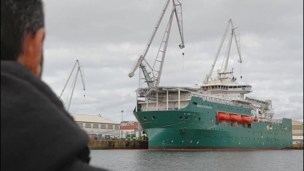 Navantia entrega el «Orgullo Petrolero»