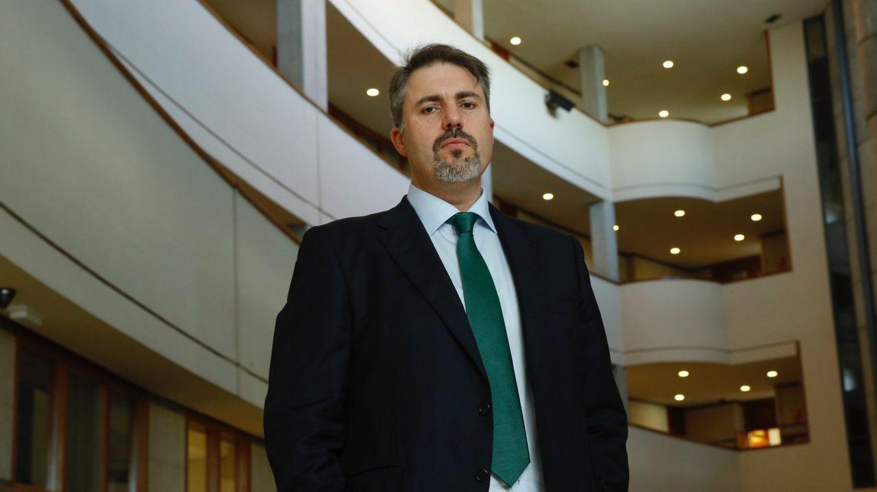 El juez Andrés Lago Louro