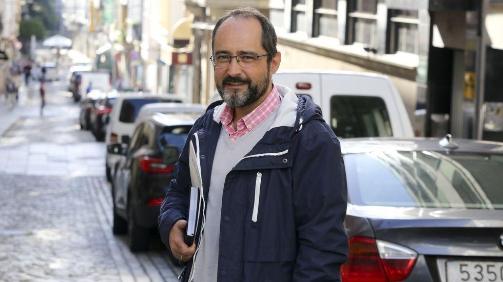 Germán Costoya, concejal de Seguridade e Tráfico de Ferrol