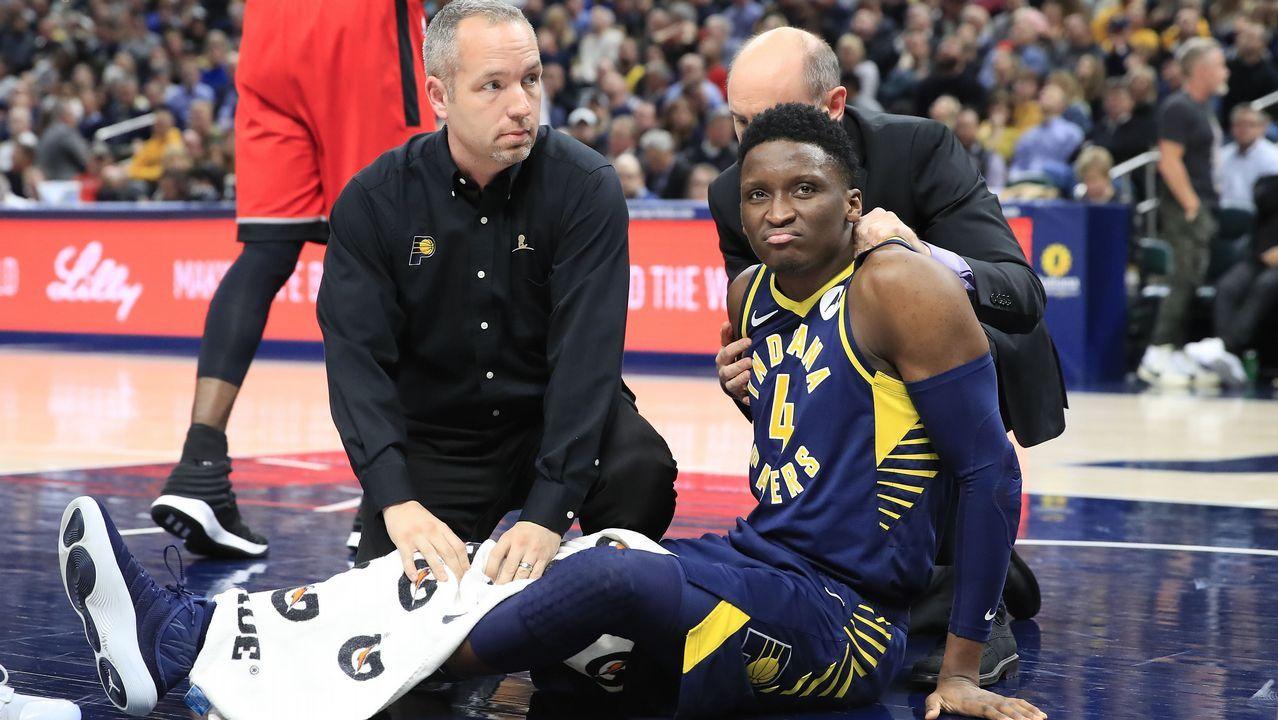 La lesión de Oladipo.Quintetos del All Star