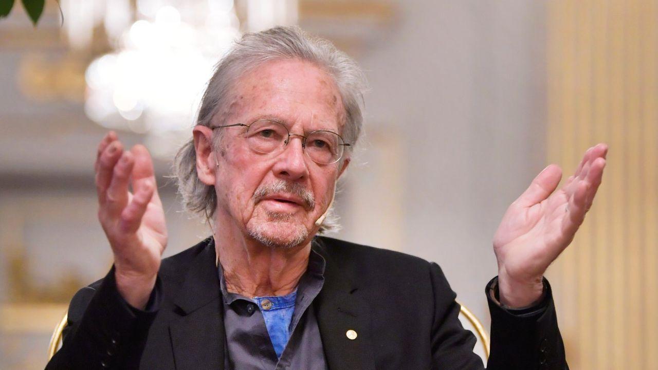 Handke se halla estos días en Estocolmo, donde este martes recibirá el premio Nobel de Literatura 2019