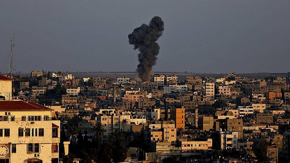 Los habitantes de Gaza celebran la vuelta a casa