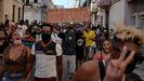Una de las manifestaciones celebradas el pasado 11 de julio en La Habana