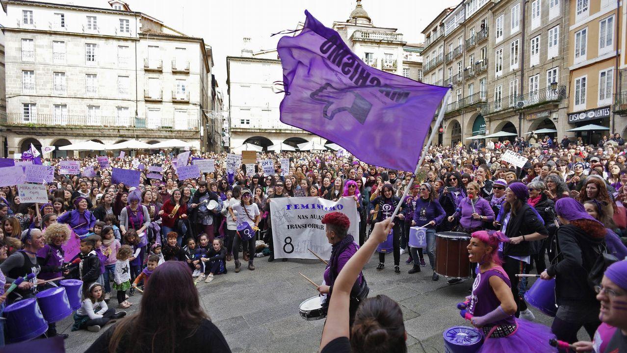 Las imágenes del 8M en Ourense