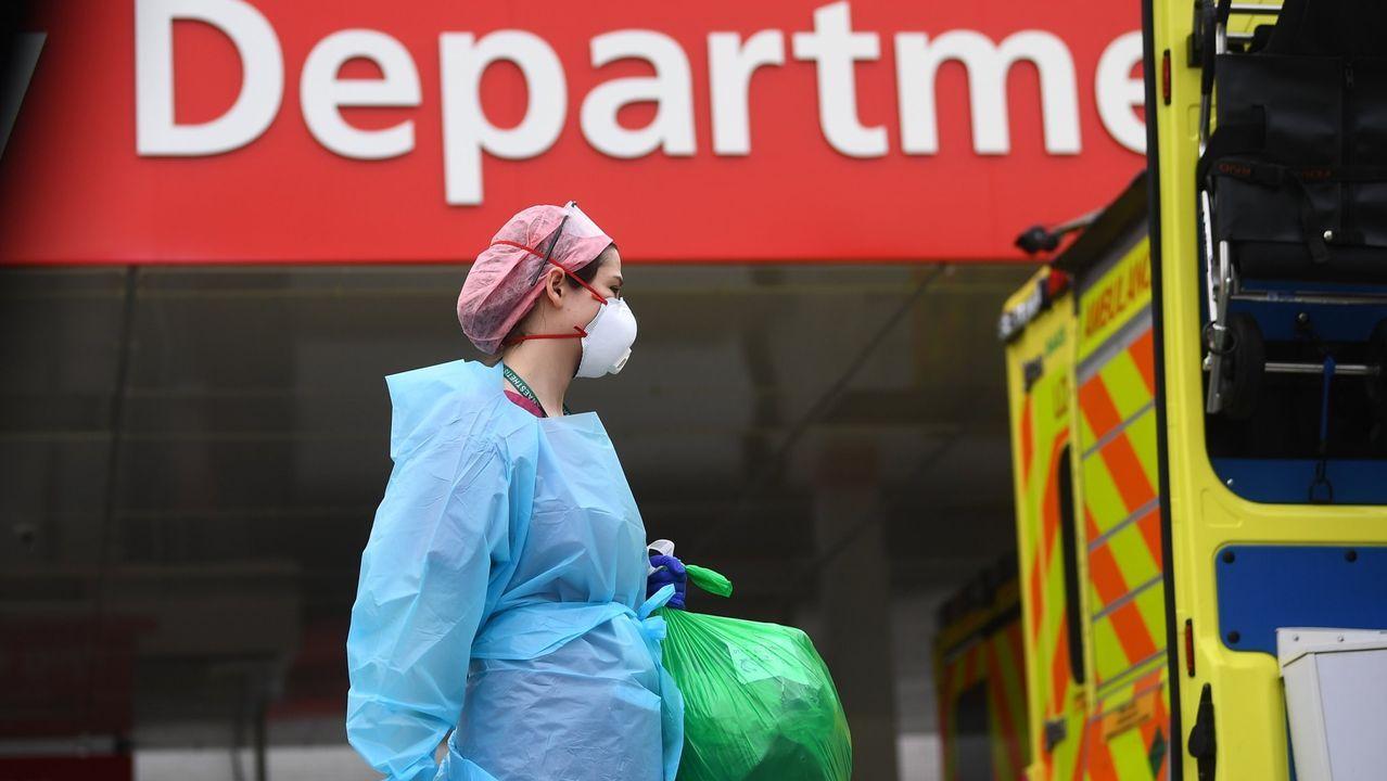 La cifra oficial de fallecidos en Reino Unido ronda los 17.000 decesos