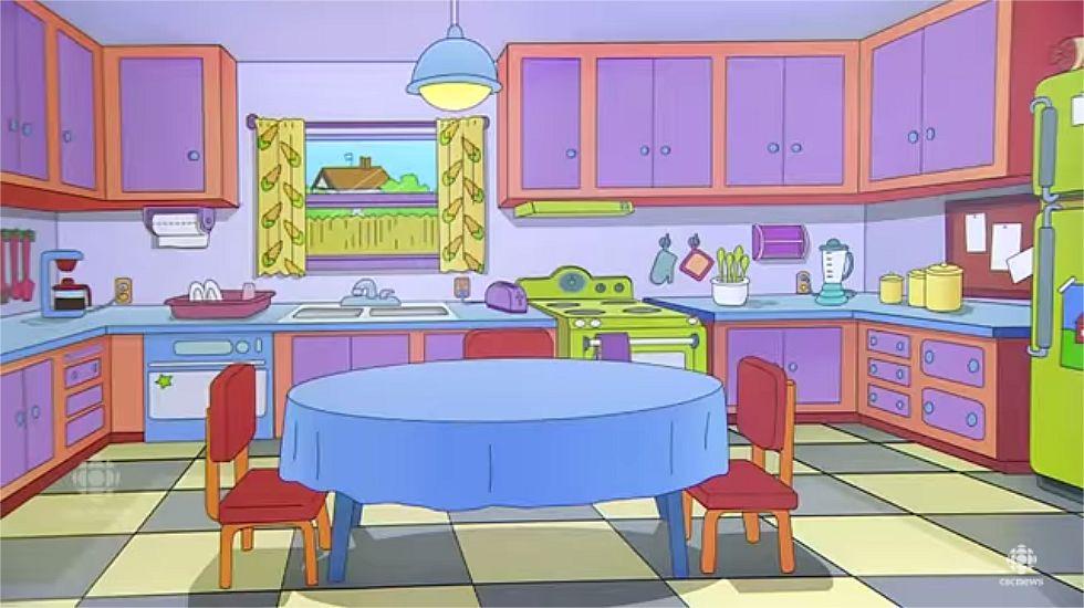 La cocina de «Los Simpsons», hecha realidad