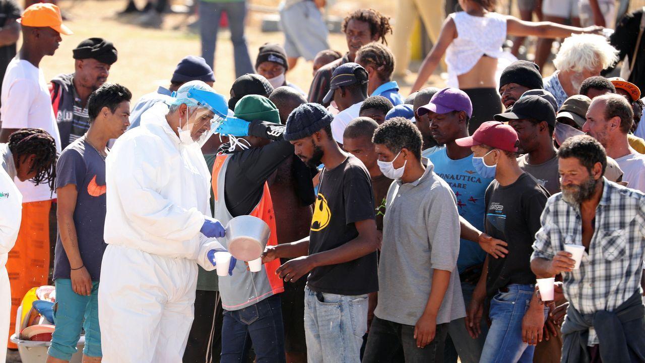 La pandemia en el mundo.Combatientes del Gobierno de unidad libio sostenido por la ONU