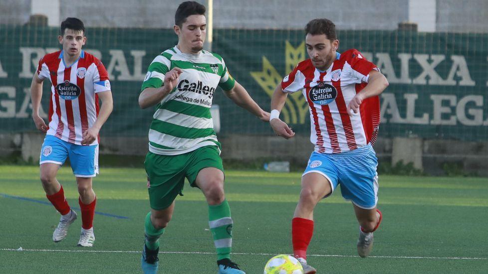 Las imágenes del partido Pontevedra contra Unionistas de Salamanca.Aythami será el nuevo preparador físico