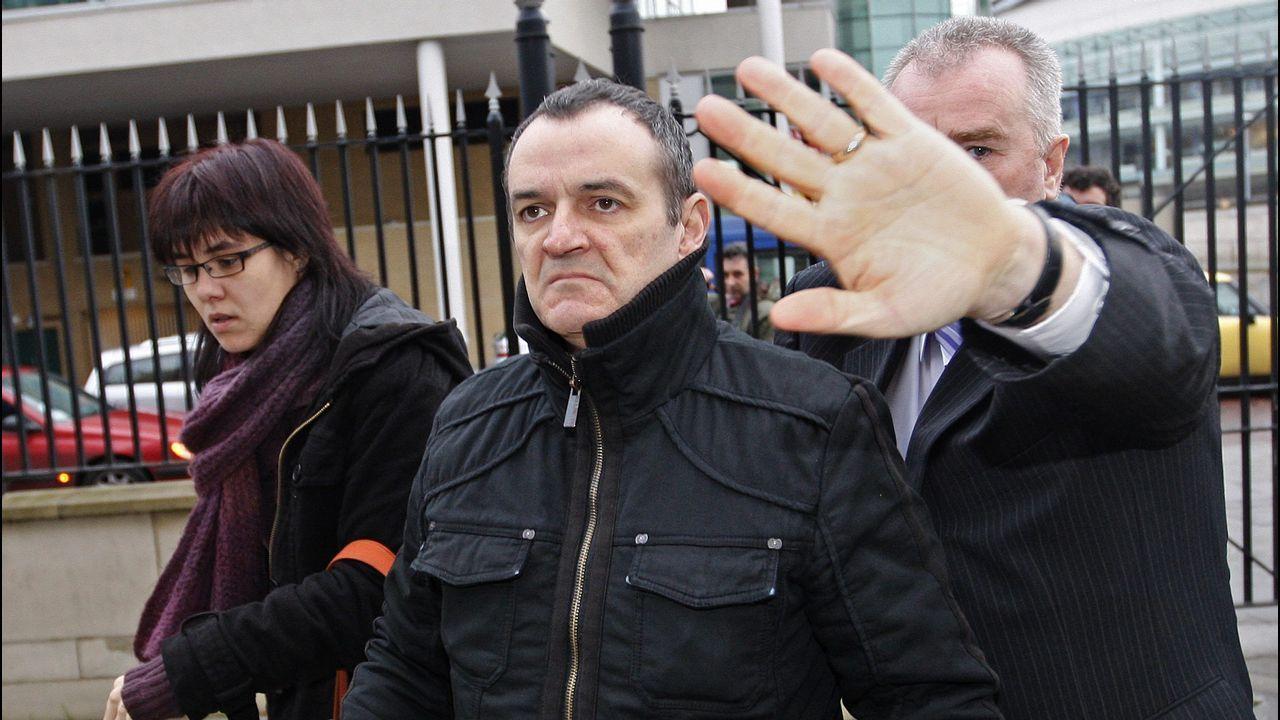 Gallegos en Venezuela.El terrorista José Ignacio de Juana Chaos, en Belfast, en el 2008