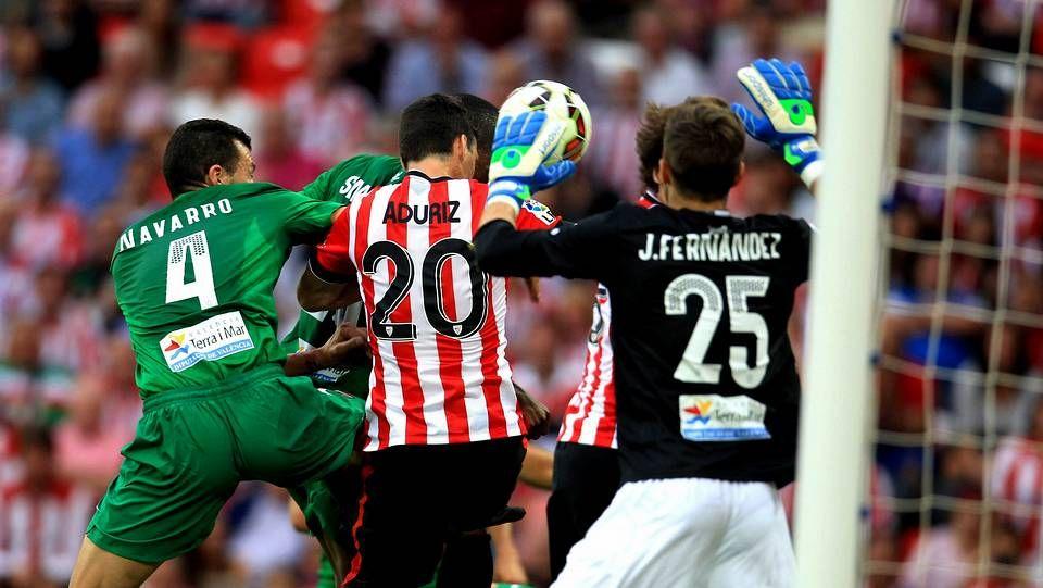 «El Athletic no renuncia a ganar».Aduriz e Ibai esta temporada