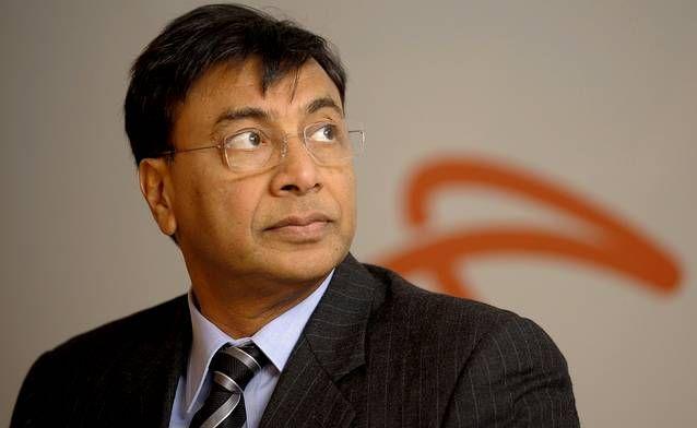 El magnate del acero Lakshmi Mittal.