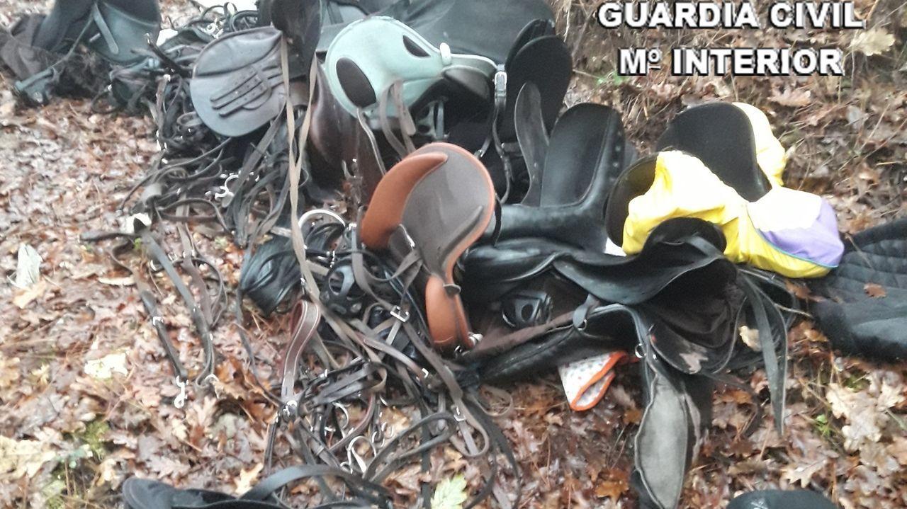 Agentes de la GNR portuguesa en una imagen de archivo