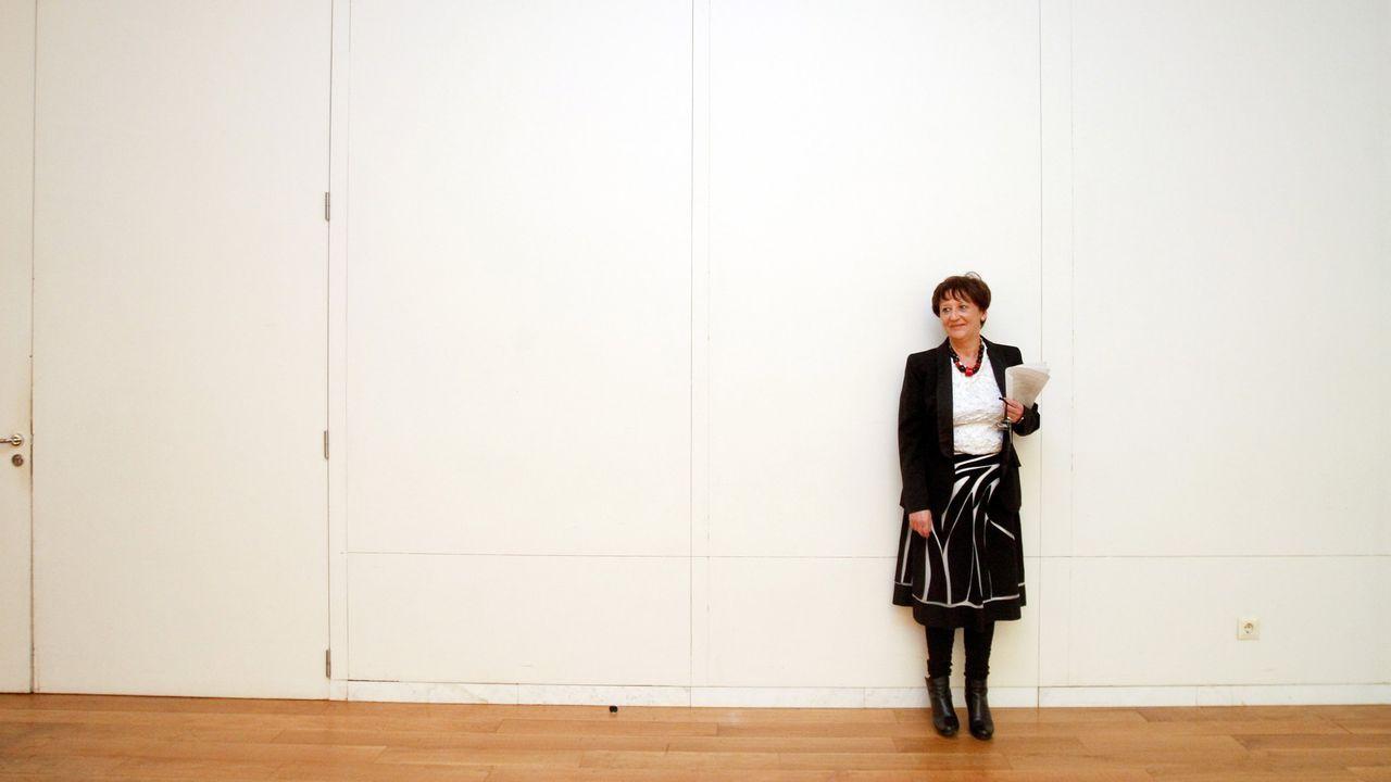 Asunta Rodríguez, directora de la Galería Trinta