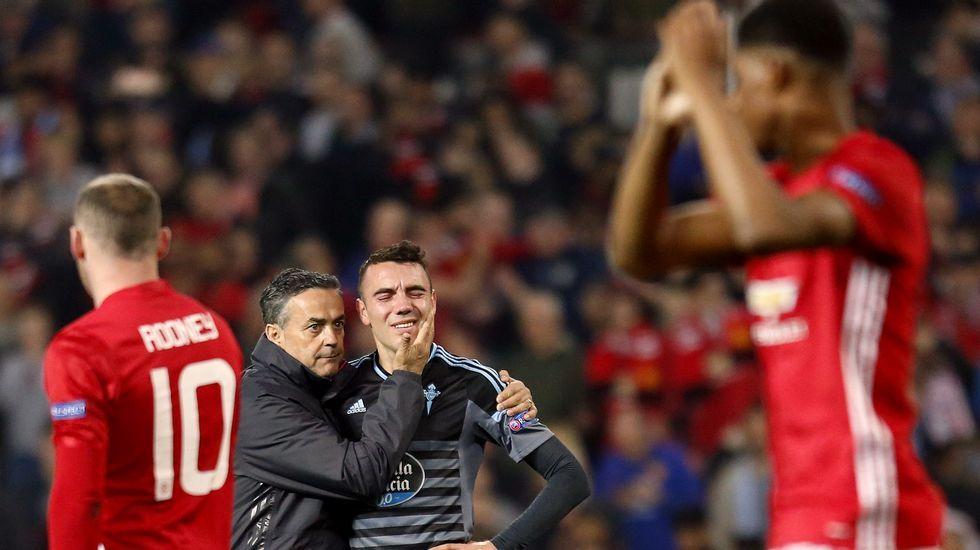 Las mejores imágenes del Manchester United - Celta