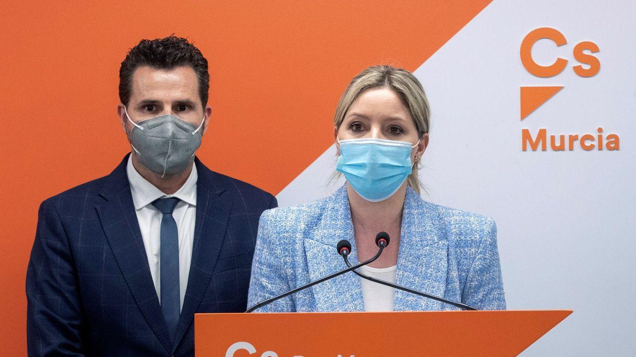 Pablo Casado (PP), Iván Espinosa de los Monteros (Vox), Pablo Iglesias (Unidas Podemos) e Inés Arrimadas (Ciudadanos), en una imagen del 2019