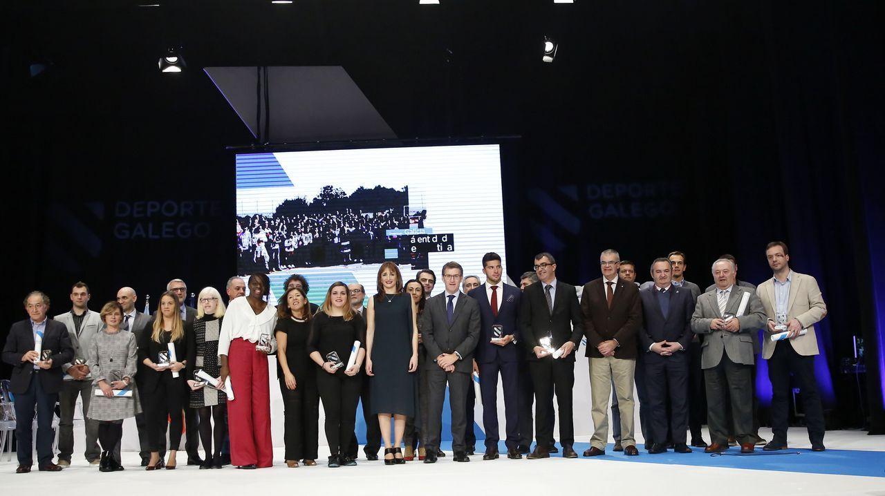 Las mejores imágenes de losPremios Deporte Galego 2016.Saúl Craviotto