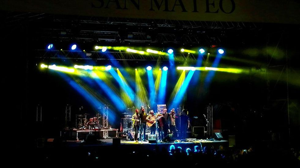 Concierto San Mateo.Concierto San Mateo