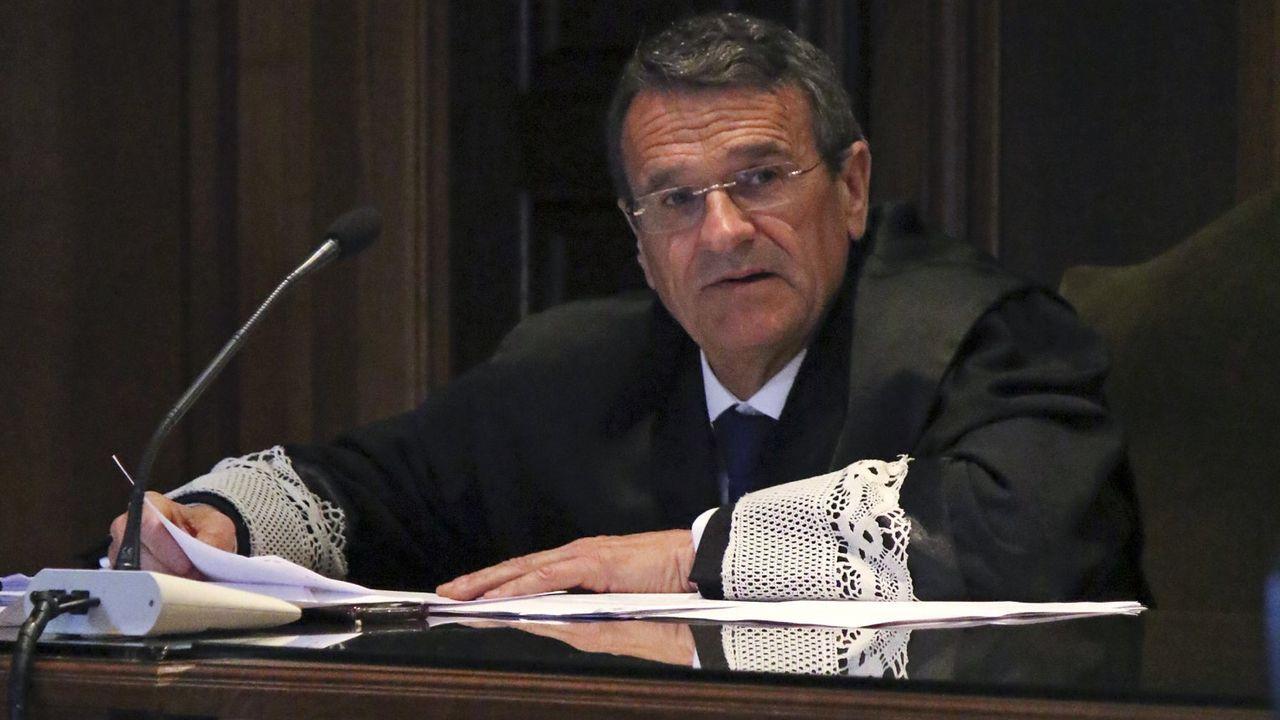 El fiscal jefe de Pontevedra, Juan Carlos Aladro.