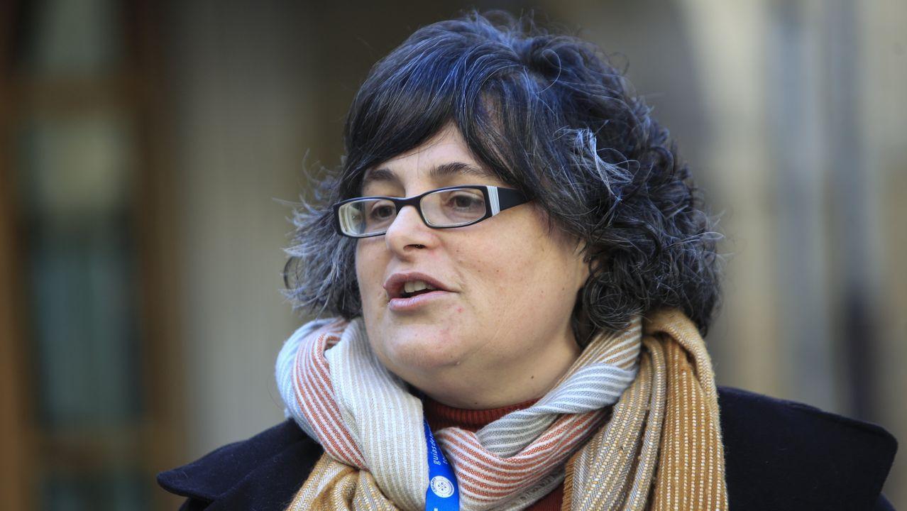 Mónica Díaz, guía turística profesional de Lugo