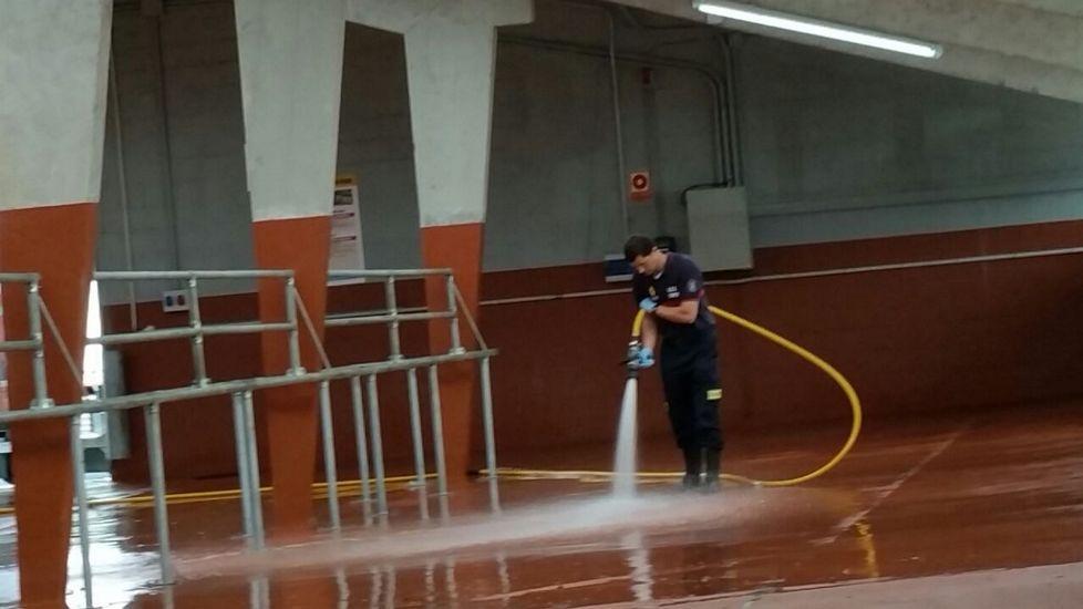 Los trabajadores del grupo de emergencias llevan desde el verano como voluntarios.