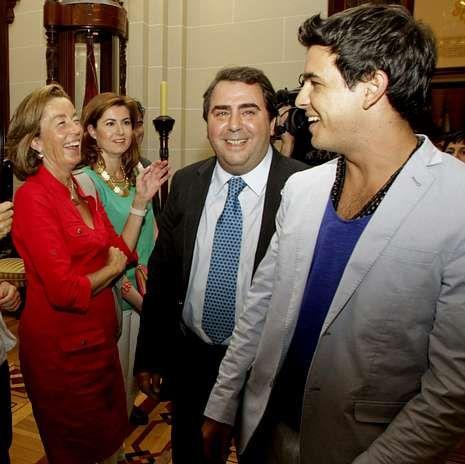 Peliculas nominadas Oscar.Intercambio de palabras con la concejala de Hacienda, Rosa Gallego