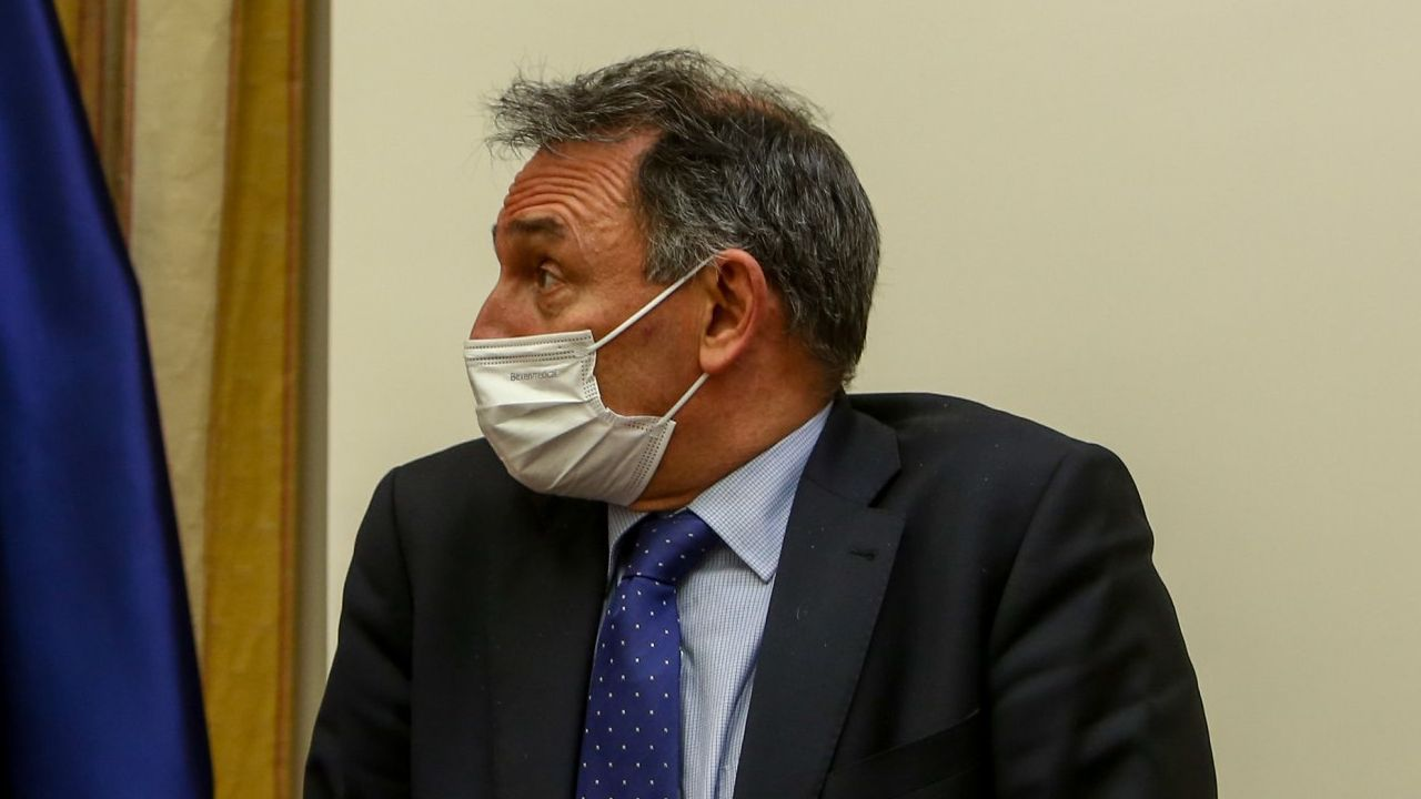 Enrique Santiago, en el Congreso en una imagen de marzo del 2021