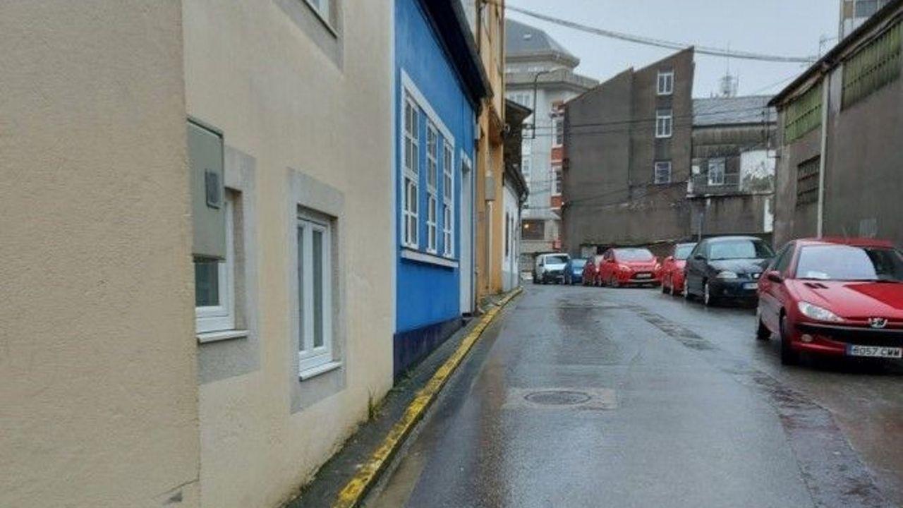 Pisos y casas que la Sareb ha rebajado Lugo.El Concello vilalbés quiere mejorar el aspecto de esta céntrica vía