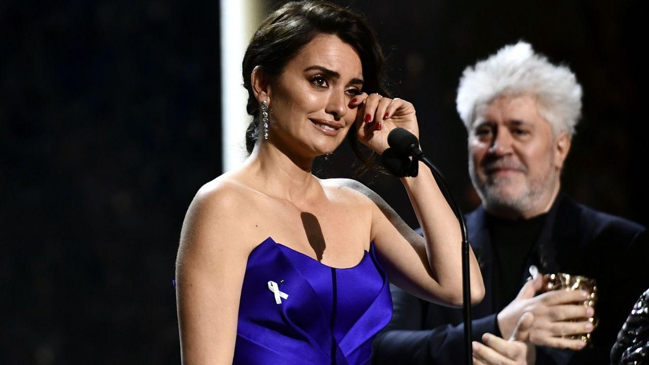 Penélopez Cruz, protagonista en los Premios César.La actriz Macarena García en San Vicente do Mar