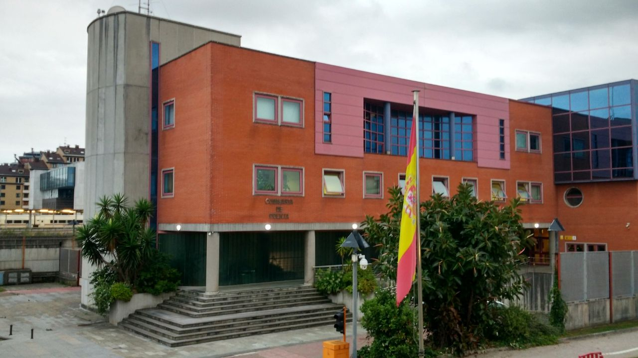 Comisaría de la Policía Nacional en Gijón