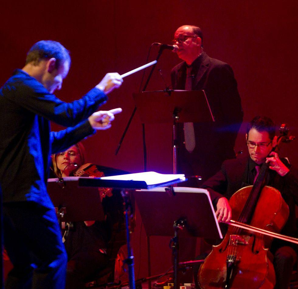 Julián Hernández, en el Auditorio, durante el Via Stellae.