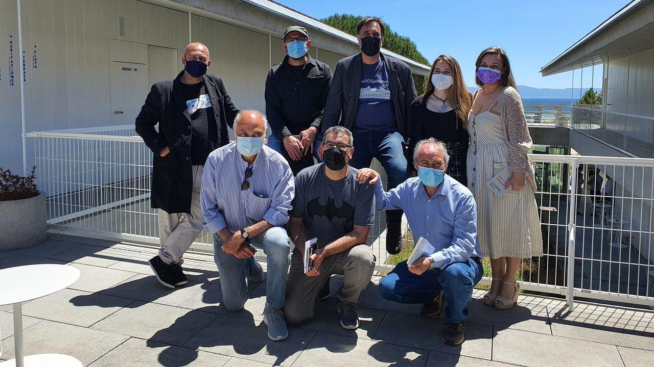 Visita de Darío Gil Arias ao colexio Fingoi, en Lugo.O Vello Cárcere continúa con su programación de obradoiros infantiles