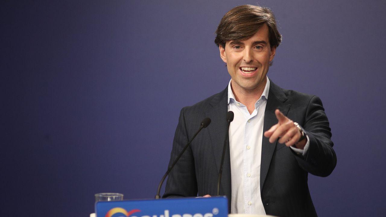 Pablo Montesinos, vicesecretario de Comunicacion del PP
