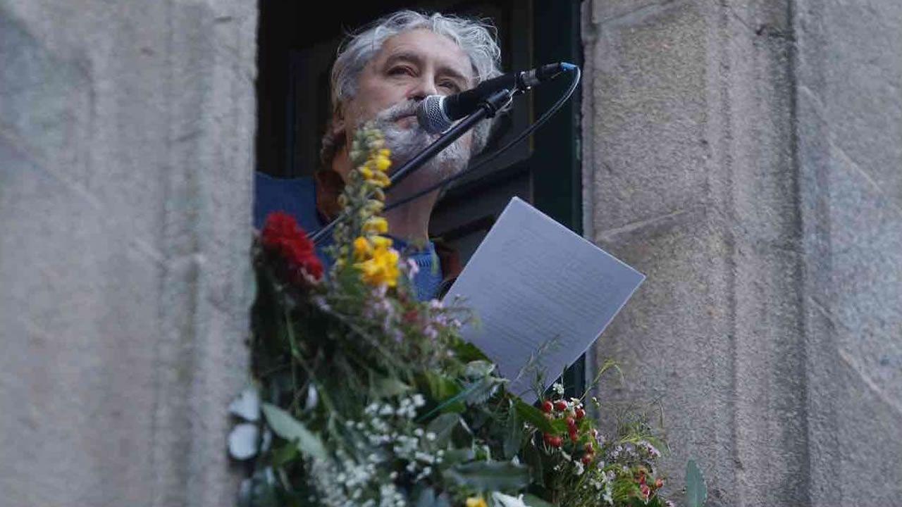 Sarabela Teatro pone en escena «A lingua das bolboretas» en Vilalba